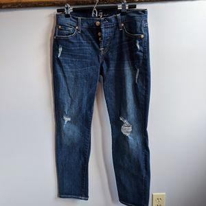 7 For All Mankind Josefina Jeans. EUC.